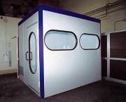Laboratoire de peinture automobile - Espace ventilé et éclairé