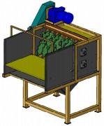 Lacérateur industriel pour carton 6,6 kW - Largeur de coupe : 1400 mm