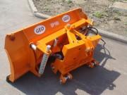 Lame chasse neige pour tracteur - Dimensions (cm) : De 140 à 250