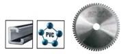 Lame de scie circulaire pour machines électroportatives - Diamètres disponibles (mm) : de 150 à 240