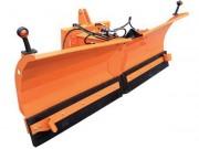 Lame orientable pour chasse neige - Orientation gauche/droite hydraulique