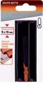Lame scie sauteuse spécial carrelage - Longueur  total  (mm) : 76