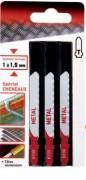 Lame scie sauteuse spécial métal - Longueur (mm) : 76