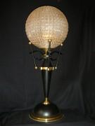 Lampadaire artisanal - Fabrication de lampadaires à partir de divers objets chinés