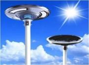 Lampadaire led solaire 1500 LM - Idéal lampadaire rue - Panneau solaire : 25W
