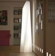 Lampadaire lumineux - Hauteur :190 cm   -  Largeur : 50 cm