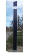 Lampadaire solaire éclairage public