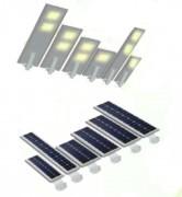 Lampadaire solaire extérieur - Temps de charge : 6 à 8 heures