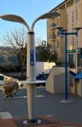 Lampadaire urbain intelligent - Connexion Internet haut débit