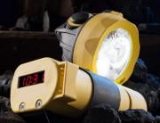 Lampe à casque rechargeable - Zones Atex : 0, 1, 2 et 21, 22