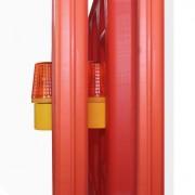 Lampe à led pour barrière - Mode d'éclairage clignotant ou statique