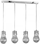 Lampe bureau suspendue 4 x 42 W - 4 x 42 W - 150 cm, largeur 78 cm