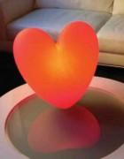 Lampe d'ambiance en polyéthylène - Hauteur : 40 cm   -  Largeur : 40 cm