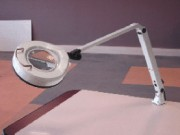 Lampe d'atelier circulaire fluorescente