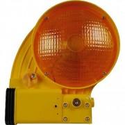 Lampe de balisage - Sortie de lumière une ou deux faces - Jaune ou rouge.