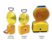 Lampe de chantier double face - Diamètre lentille : 200 mm