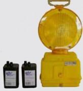 Lampe de chantier jaune clignotante - Photocellule clignotante - Ampoules LED