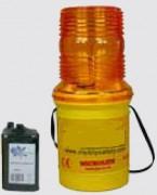 Lampe de chantier microlite - Photocellule clignotante