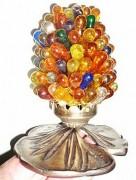 Lampe de chevet grappe - Hauteur : 20 cm - Largeur : 15 cm