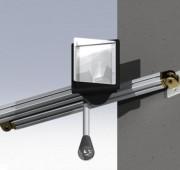 Lampe de quai à led - Montée sur bras articulé