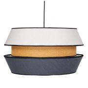 Lampe de style scandinave - Lampe plafonnier de style Scandinave en fibres naturelles