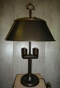 Lampe empire - Hauteur : 50 cm