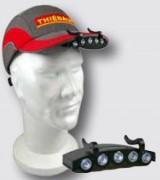 Lampe led pour casquette sécurité - 5 ampoules Leds - 4 modes de fonctionnement