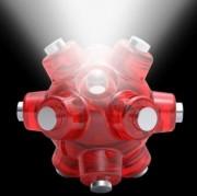 Lampe magnétique led de poche - Lampe sphérique led 12 aimants