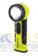 Lampe torche ATEX autonomie 13 heures - Lampe de poche à angle droit, 2 modes d'éclairage
