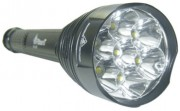 Lampe torche rechargeable 45 watts - Portée : 1 km - Puissance : 45 watts