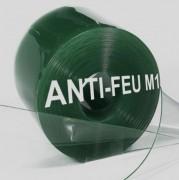 Lanière pvc souple anti-feu M1 - Largeur de lanière : 300 mm - Atténuation sonore : > 35 dB