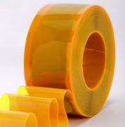 Lanière pvc souple colorée transparente - Coloris : bleu, rouge et jaune