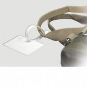 Lanières de bagage blanches - Matière : PVC