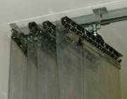 Lanières souples accordéon - Dégagement de l'ouverture jusqu'à 85%