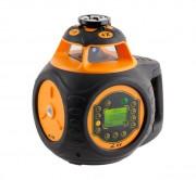 Laser de chantier rotatif double pente - Précision horizontale ± 0,5 mm / 10 m - Précision verticale ± 1,0 mm / 10 m