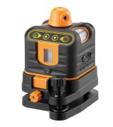 Laser de chantier rotatif manuel - Précision : ± 2 mm / 10 m