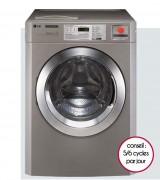 Lave linge professionnel 16kg - Essorage : 980 t/mn