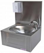 Lave-mains avec robinet électronique - Inox 18/10 – AISI 304 - Distributeur de savon 500 ml
