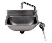 Lave-mains eco en inox - Matière : Inox - Bac inox ovale 360 x 250 x 130 mm