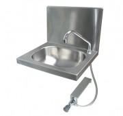 Lave-mains inox ergonomique