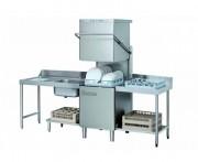 Lave vaisselle à capot professionnel - Rendement/h : 20 à 60 casiers