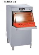 Lave vaisselles et ustensiles en inox - Dimension (mm) : 500 x 500 x 100 – Panier 50 x 50 et 60 x 40