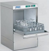 Lave verre professionnel en acier inox - Productivité : 30 casiers par heure