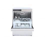 Lave-verres 35 x 35 - Carrosserie en inox - Modèle : standard - avec adoucisseur - L 430x P 485x H 660 mm