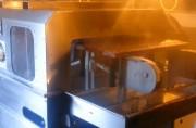 Laveuse de caillebotis - Cadence réglable : 100 à 200 /h