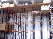 Le rayonnage Drive in - Capacité de charge  de 750 à 5000 kg