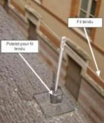 Les fils tendus - Prévention et protection des bâtiments