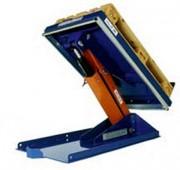 Les tables élévatrices pour charges longues - Doubles ciseaux horizontaux   -  Bonne stabilité