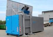 Lève conteneur pour bennes amovibles de 25 à 35 m³ - Bennes amovibles de capacité 30 et 35 m³