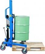 Lève-fût à Châssis réglable en largeur - Charge admissible 350 kg